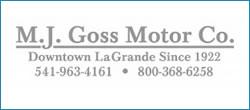 Answering service client - M.J. Goss Motors