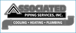 associated piping heating cooling plumbing